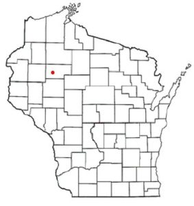 Town of Stubbs, Rusk County, Wisconsin Map
